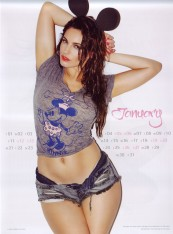 Kelly Brook Sexy Official 2013 Calendar [Photos] - 002