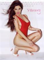 Kelly Brook Sexy Official 2013 Calendar [Photos] - 003