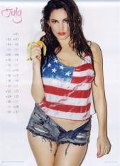 Kelly Brook Sexy Official 2013 Calendar [Photos] - 008