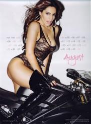 Kelly Brook Sexy Official 2013 Calendar [Photos] - 009