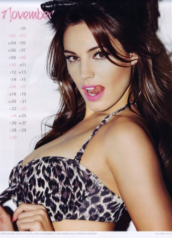 Kelly Brook Sexy Official 2013 Calendar [Photos] - 012