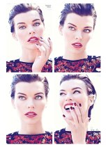 Milla Jovovich Flare Canada October 2012 [Photos] - 001