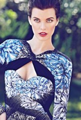 Milla Jovovich Flare Canada October 2012 [Photos] - 004