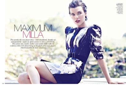 Milla Jovovich Flare Canada October 2012 [Photos] - 006