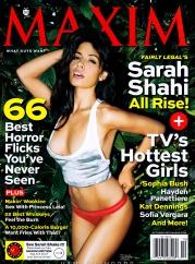 Sarah Shahi Maxim Magazine USA October 2012 [Photos] - 001