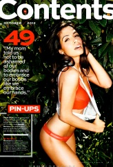 Sarah Shahi Maxim Magazine USA October 2012 [Photos] - 002