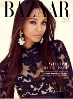 Zoe Saldana Harper's Bazaar Arabia September 2012 [Photos] - 004