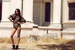 Zoe Saldana Harper's Bazaar Arabia September 2012 [Photos] - 010