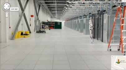 Amazing Photos from inside Google Data Centre, Plus Street View [Photos] Storm Trooper and R2d2
