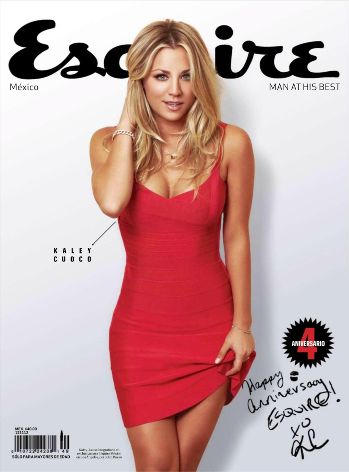 Big Bang Theory's Kaley Cuoco in Esquire Mexico October 2012 [Photos] 001