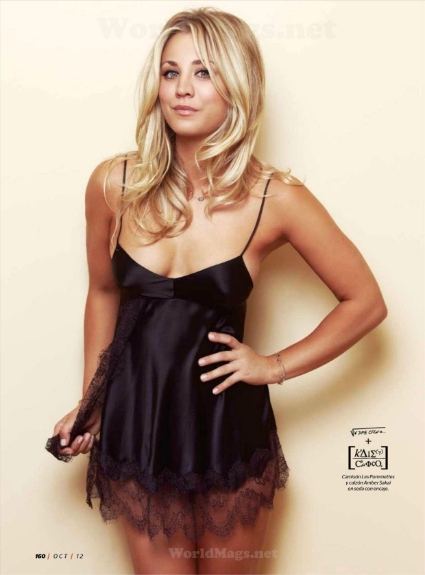 Big Bang Theory's Kaley Cuoco in Esquire Mexico October 2012 [Photos] 004