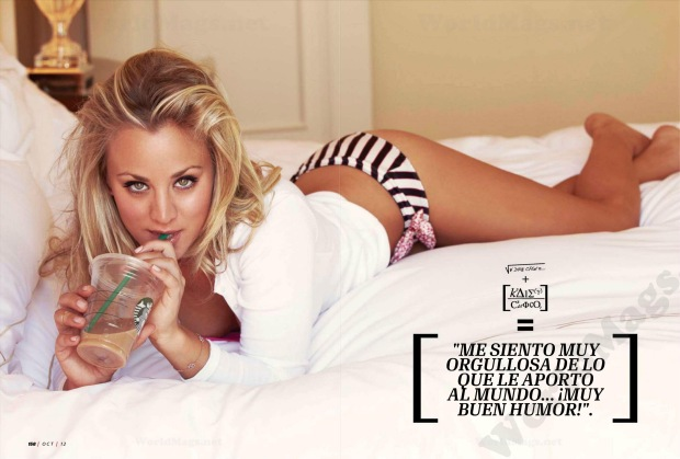 Big Bang Theory's Kaley Cuoco in Esquire Mexico October 2012 [Photos] 009