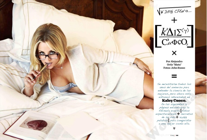 Big Bang Theory's Kaley Cuoco in Esquire Mexico October 2012 [Photos] 010