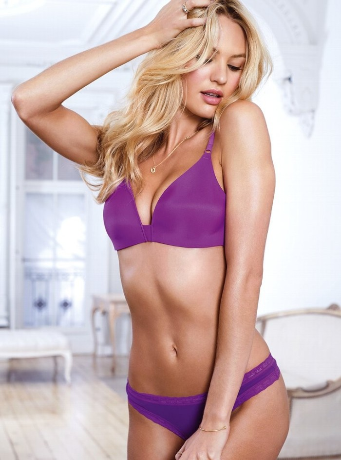 Candice Swanepoel New Victoria's Secret Lingerie Photoshoot 2012 [Photos] 006