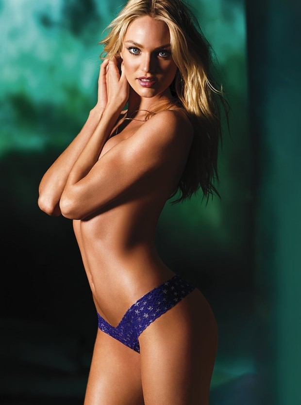 Candice Swanepoel New Victoria's Secret Lingerie Photoshoot 2012 [Photos] 012