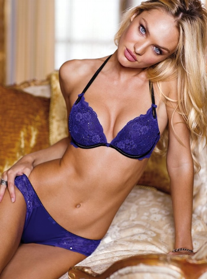 Candice Swanepoel New Victoria's Secret Lingerie Photoshoot 2012 [Photos] 016