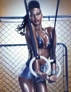 Cassie Ventura Gets Raunchy For GQ Magazine October 2012 [Photos] - 02
