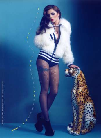 Cheryl Cole's 2013 Calendar Revealed [Photos] 011