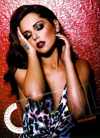 Cheryl Cole's 2013 Calendar Revealed [Photos] 012
