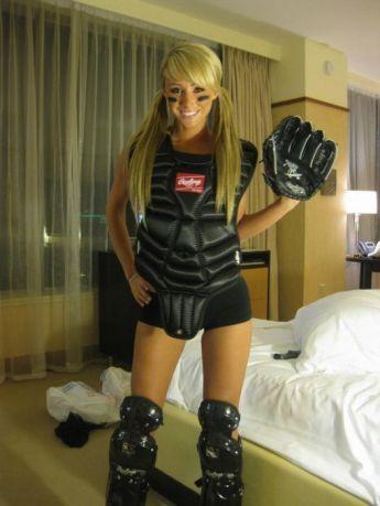 History of Sara Jean Underwood's Halloween Costumes [Photos] 013