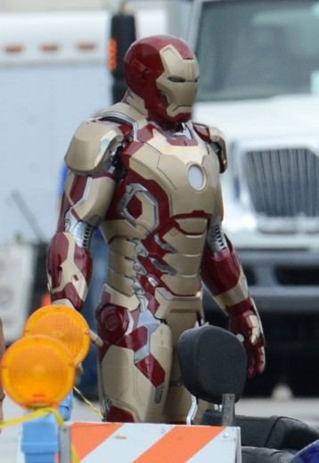 Film Set - 'Iron Man 3'