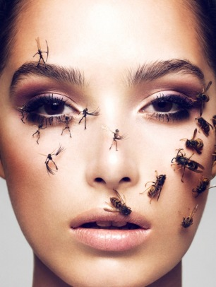 Jaz Wasson Covered in a %22Swarm%22 for Schon Magazine [Photos] 004