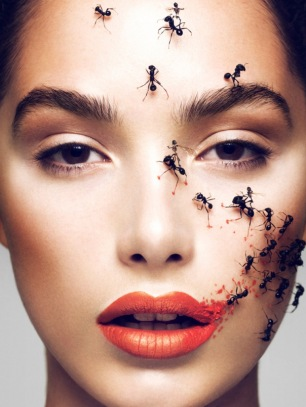 Jaz Wasson Covered in a %22Swarm%22 for Schon Magazine [Photos] 005