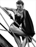 Karlie Kloss is Sexy in Latex and Leather for Numéro 137 by Greg Kadel [Photos] 003