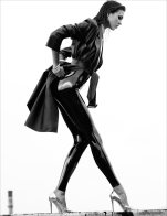 Karlie Kloss is Sexy in Latex and Leather for Numéro 137 by Greg Kadel [Photos] 007