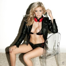 Kate Upton strips for Skullcandy photo shoot 002