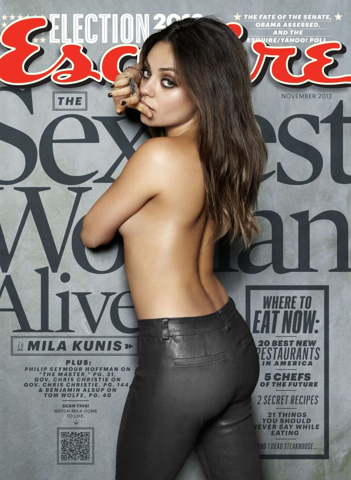 Mila Kunis Is Esquire's Sexiest Woman Alive 2012 [Photos] 002