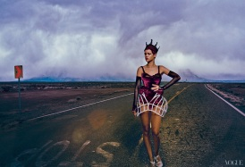 Rihanna Vogue US November 2012 by Annie Leibovitz [Photos] 006