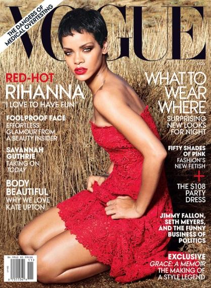 Rihanna Vogue US November 2012 by Annie Leibovitz [Photos] 007