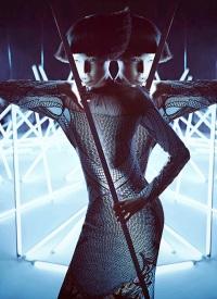 Wang Xiao Lights Up for Harper's Bazaar China Art 2012 [Photos] 002