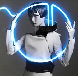 Wang Xiao Lights Up for Harper's Bazaar China Art 2012 [Photos] 003