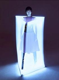 Wang Xiao Lights Up for Harper's Bazaar China Art 2012 [Photos] 011