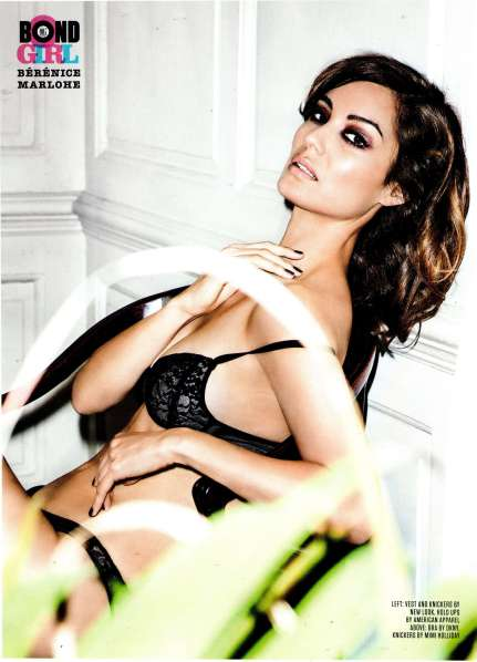 Berenice Marlohe Hottest Bond Girl Ever - FHM Magazine December 2012 [Photos] 005