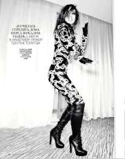 Berenice Marlohe Marie Claire Russia Magazine October 2012 [Photos] 003