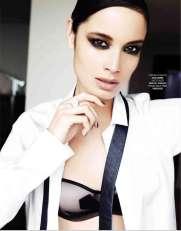 Berenice Marlohe Marie Claire Russia Magazine October 2012 [Photos] 004