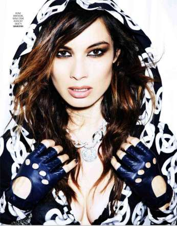 Berenice Marlohe Marie Claire Russia Magazine October 2012 [Photos] 005