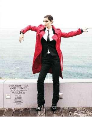 Berenice Marlohe Marie Claire Russia Magazine October 2012 [Photos] 007