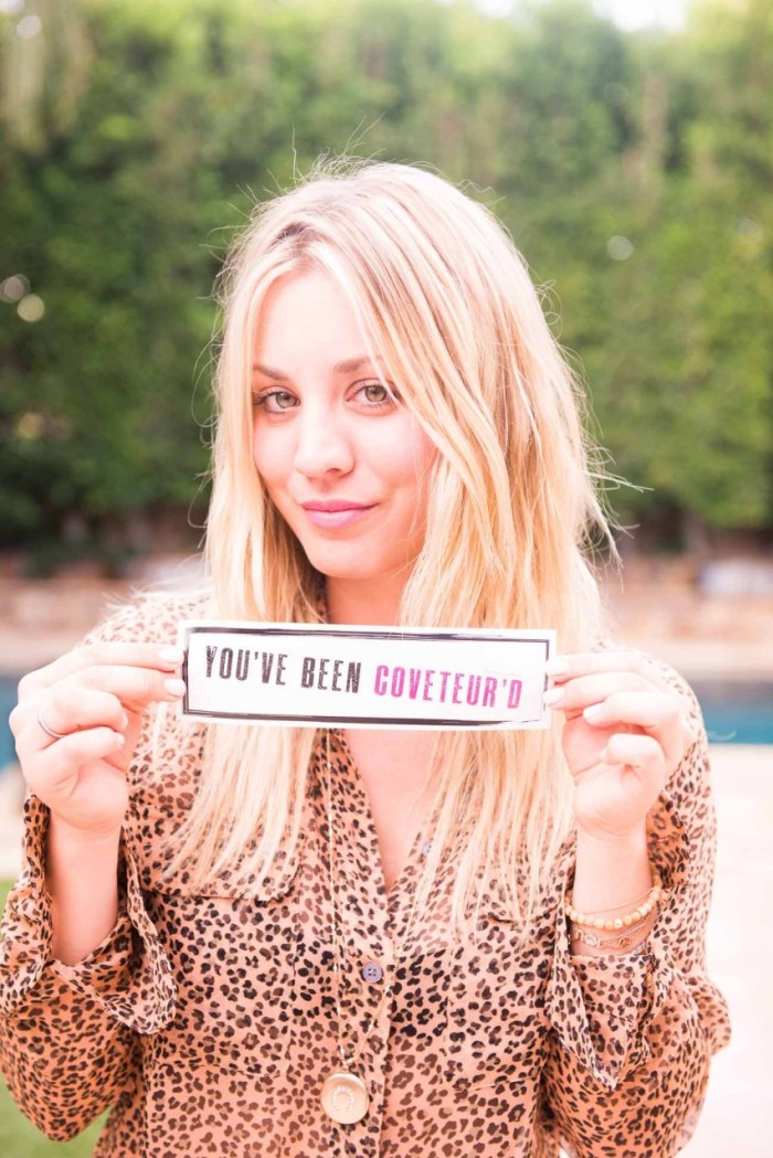 Kaley Cuoco - The Coveteur photoshoot 2012 [Photos]  003