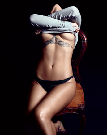 Rihanna Almost Naked for GQ USA December 2012 [Photos] 02
