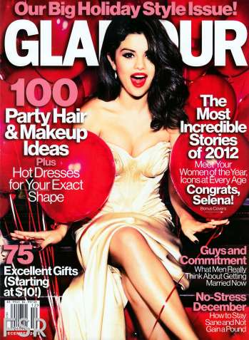 Selena Gomez's Glamour Magazine December 2012 [Photos] 003