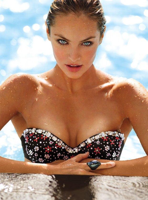 Candice Swanepoel Victoria's Secret Swim 2013 001
