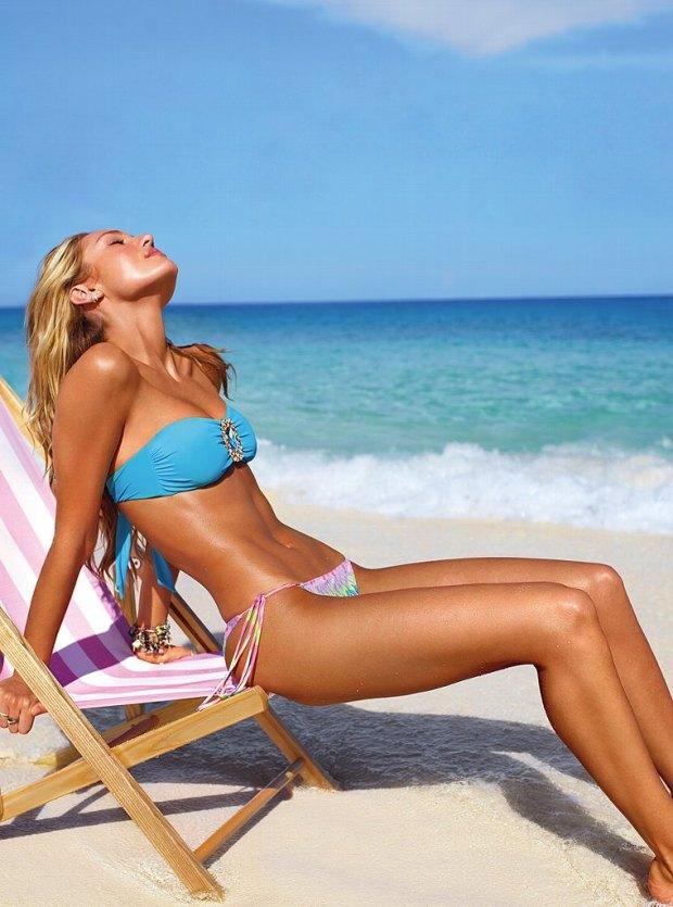 Candice Swanepoel Victoria's Secret Swim 2013 007