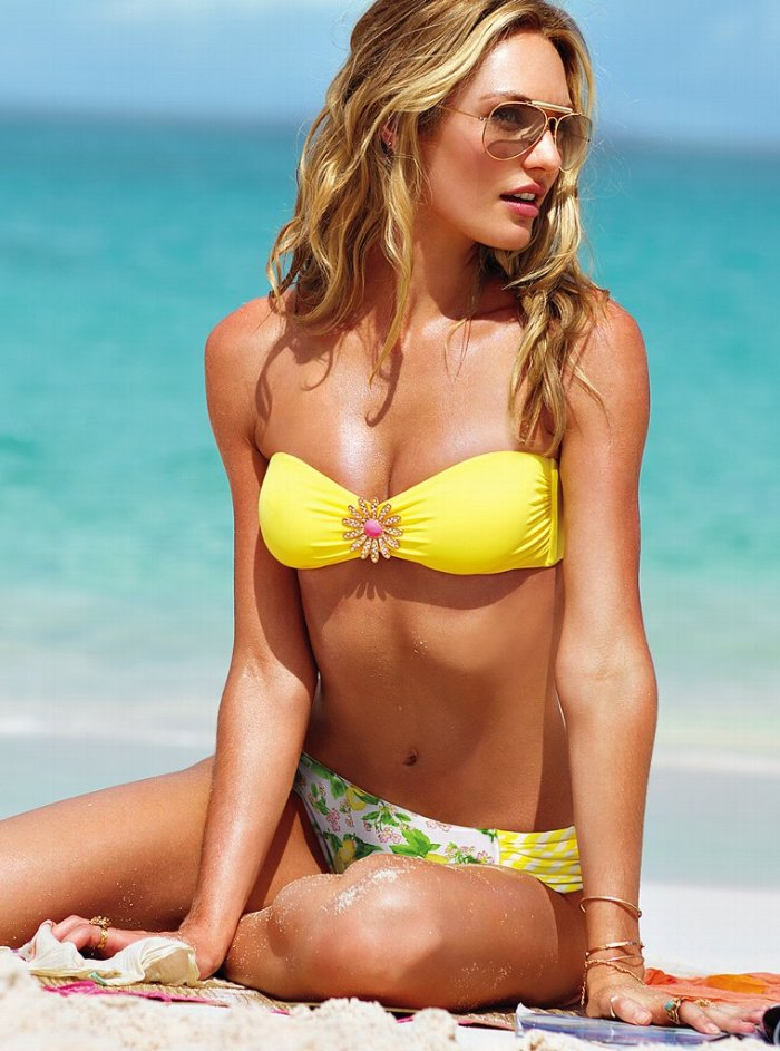 Candice Swanepoel Victoria's Secret Swim 2013 010