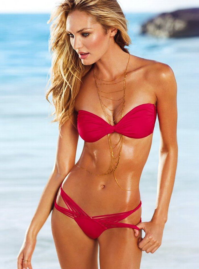 Candice Swanepoel Victoria's Secret Swim 2013 013