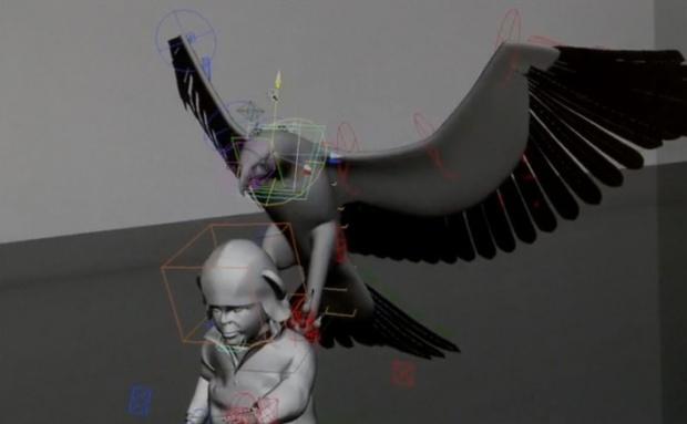 Eagle-Lifting-a-Baby-a-CGI-Stunt!-[Viral]