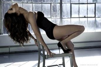 Eva Longoria Strips Down for GQ Mexico December 2012 [Photos] 001